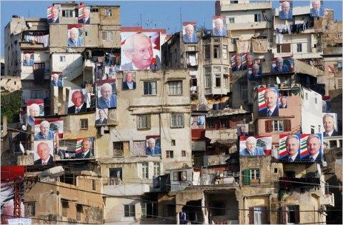 Ливан, гр.Триполи. Предизборната надпревара стартира.