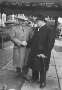 Труман и Чърчил.Списание Life