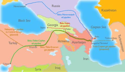 Газопровода Баку-Грузия-Ерзурум.Началото на Набуко